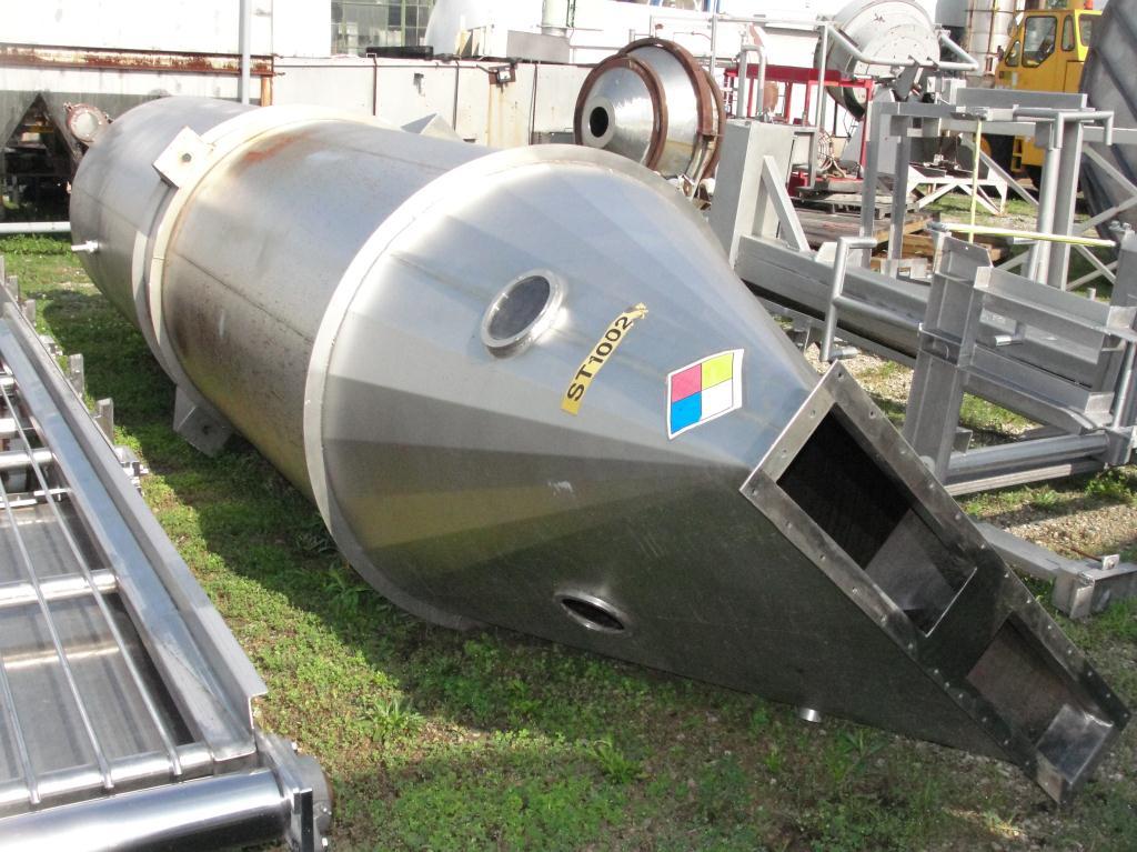 Bin 260 cu.ft., bulk storage bin, Stainless Steel3