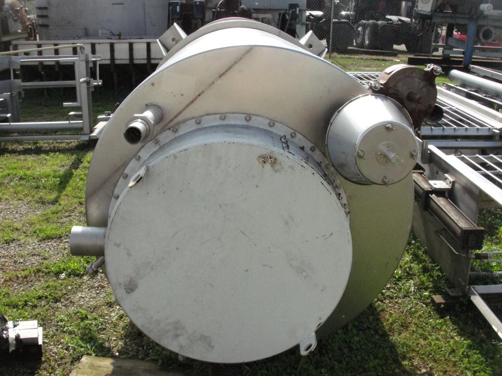Bin 260 cu.ft., bulk storage bin, Stainless Steel4