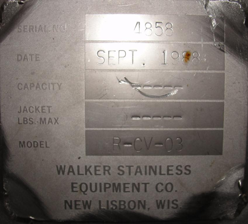 Feeder 6 dia Walker Stainless Equipment Co screw feeder 6.25 x 48, Stainless Steel4