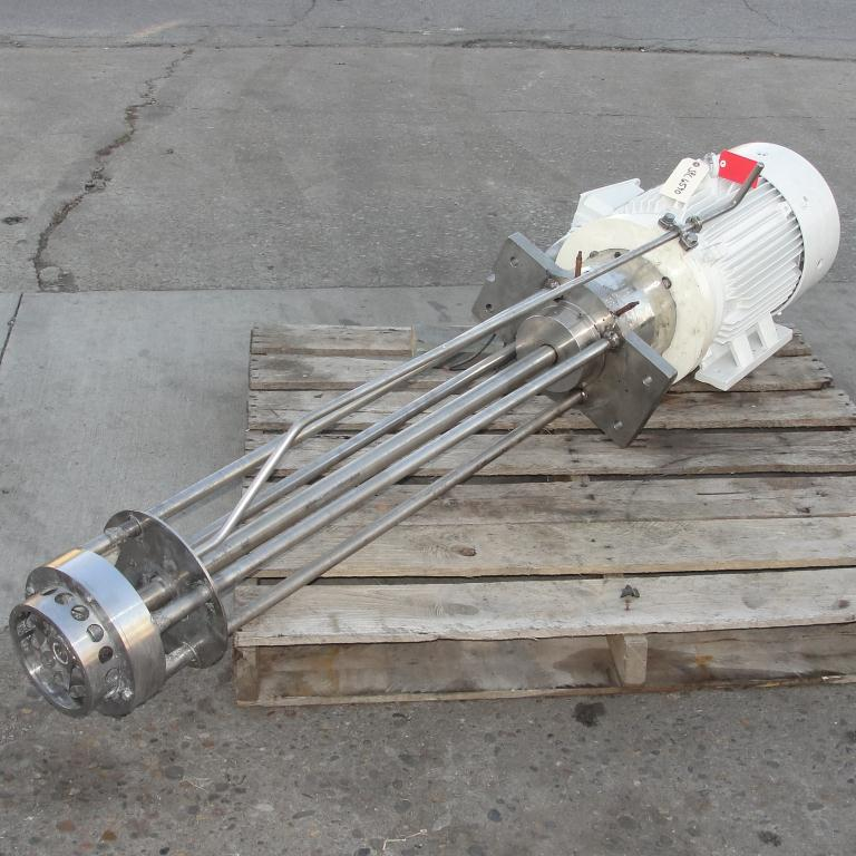 Homogenizer 25 hp Jaygo batch high shear mixer model GM-20, 3545 rpm, Stainless Steel1