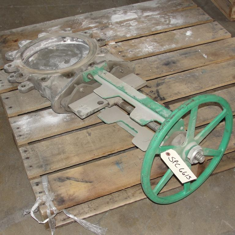 Valve 12 Rovalve gate valve, hand wheel, 316 SS3