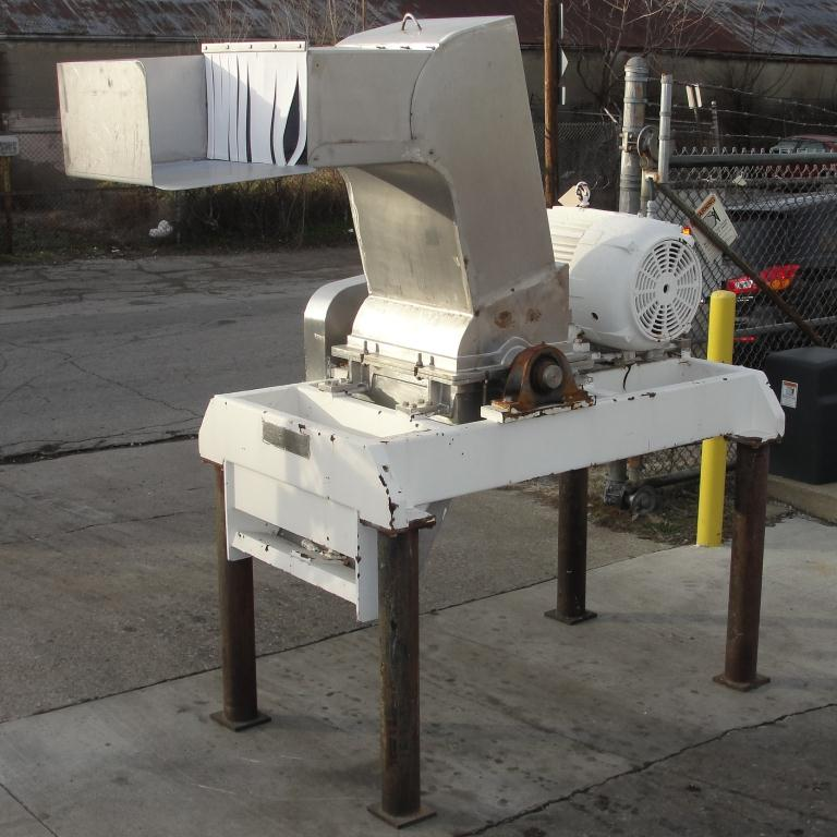 Mill Fitzpatrick model 59 Fitzmill, Stainless Steel Contact Parts, 50 hp, pan type feed1