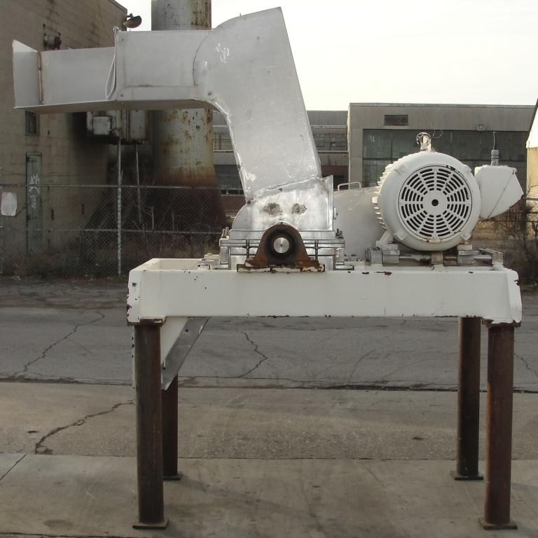 Mill Fitzpatrick model 59 Fitzmill, Stainless Steel Contact Parts, 50 hp, pan type feed3
