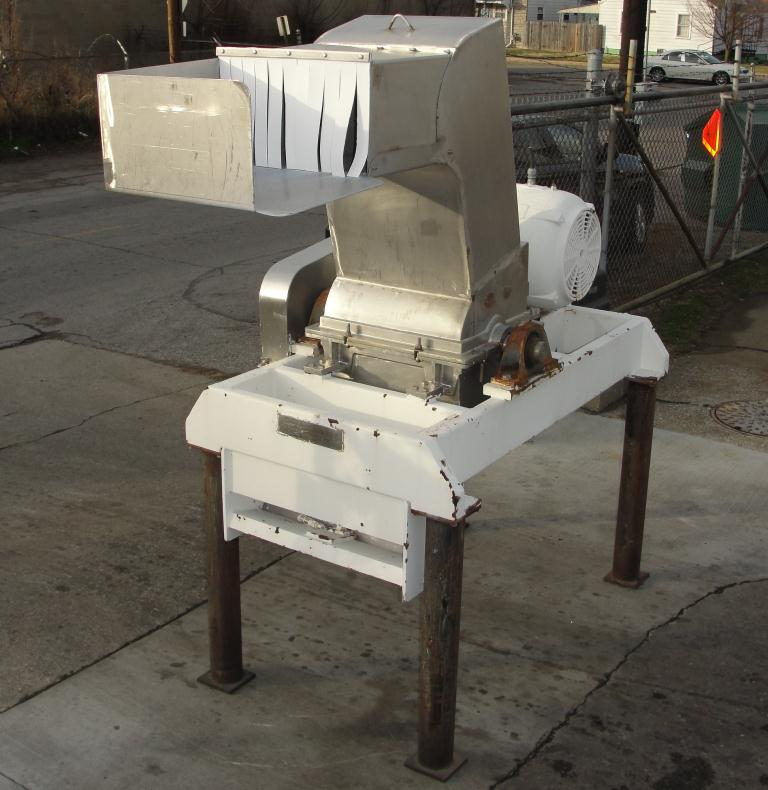 Mill Fitzpatrick model 59 Fitzmill, Stainless Steel Contact Parts, 50 hp, pan type feed6