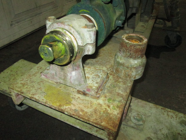 Pump size 1.5 Moyno progressive cavity pump model 1L3CDQ, 3 hp, CS2