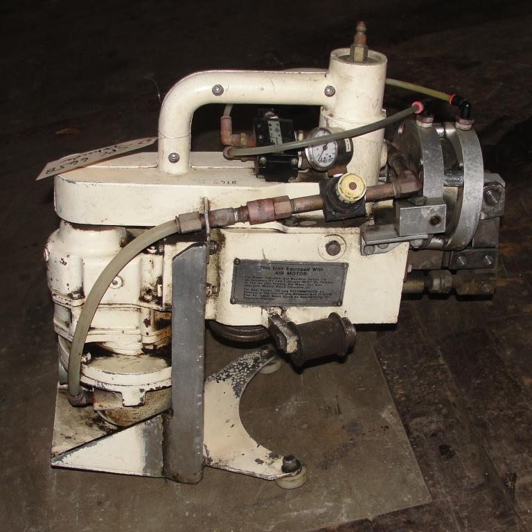 Material Handling Equipment Wizard Drum Tool Co. model HD-RFA 55 gallon drum deheader, pnuematic3