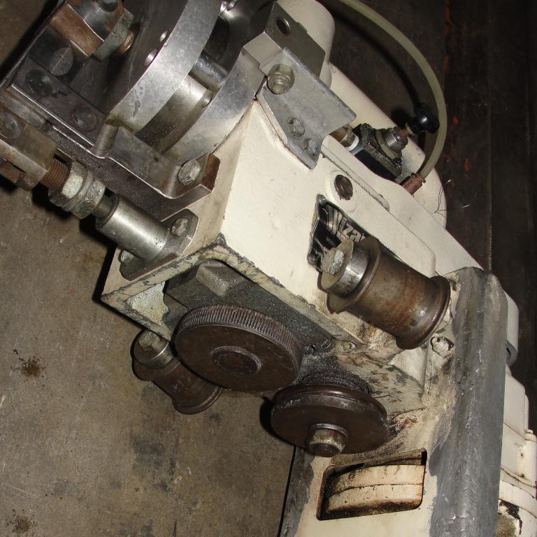 Material Handling Equipment Wizard Drum Tool Co. model HD-RFA 55 gallon drum deheader, pnuematic5