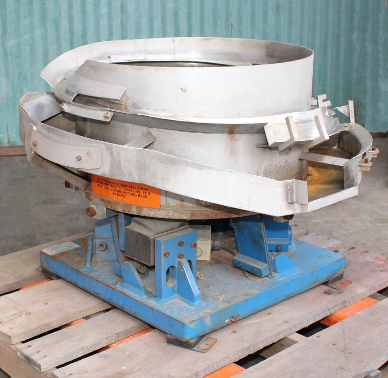 Feeder 36 Moorfeed Corp. vibratory bowl feeder Stainless Steel Contact Parts4