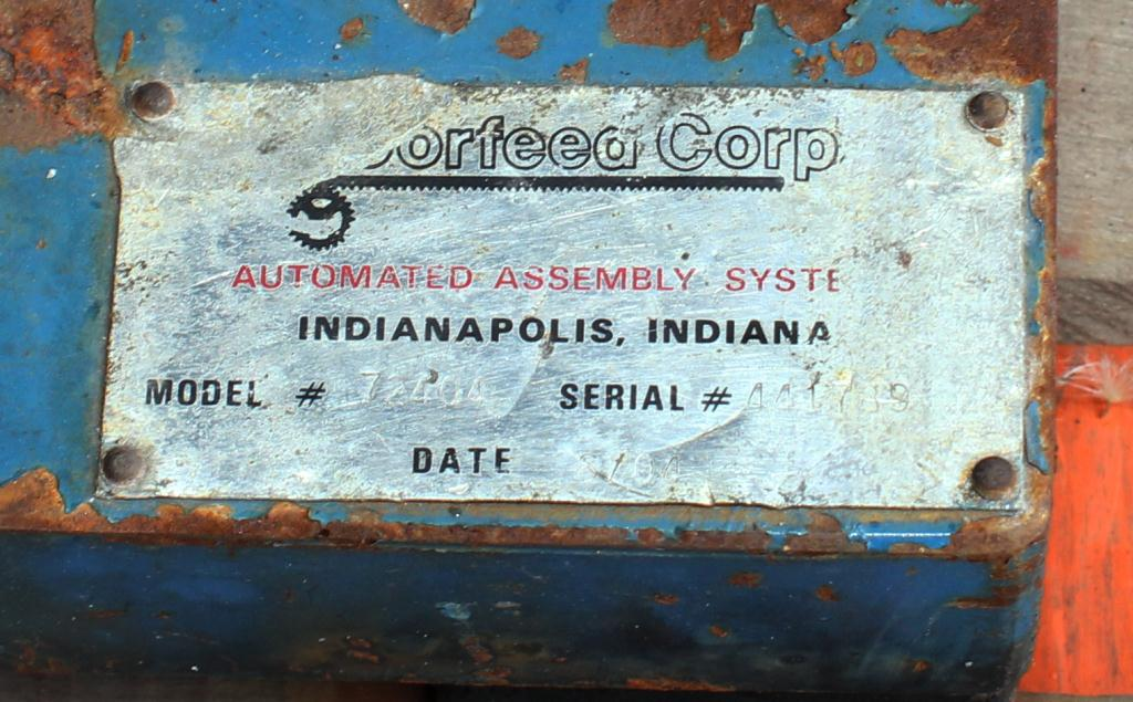 Feeder 36 Moorfeed Corp. vibratory bowl feeder Stainless Steel Contact Parts5