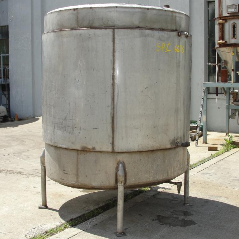 Tank 1000 gallon vertical tank, Stainless Steel, flat bottom5