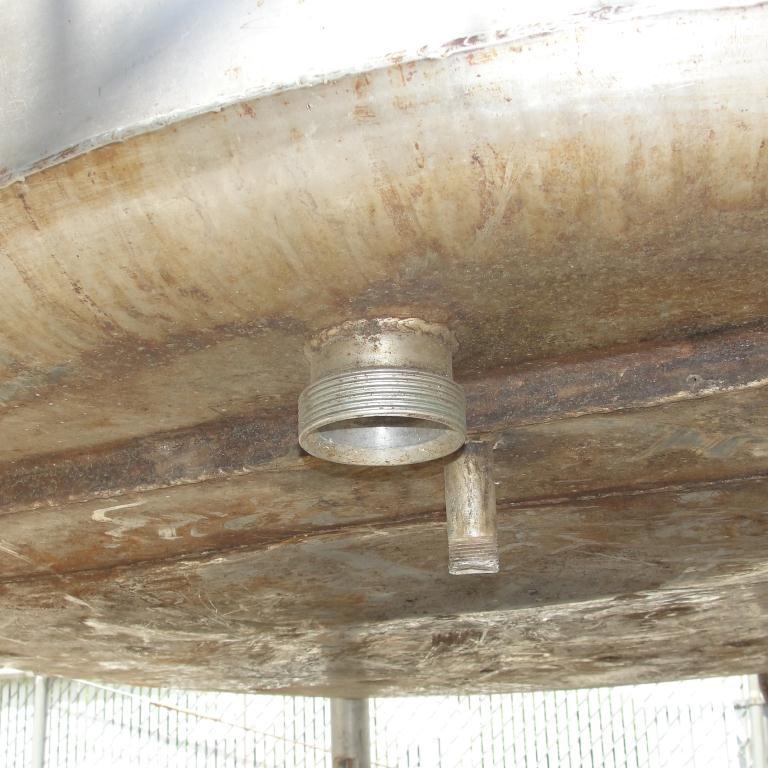Tank 1000 gallon vertical tank, Stainless Steel, flat bottom9