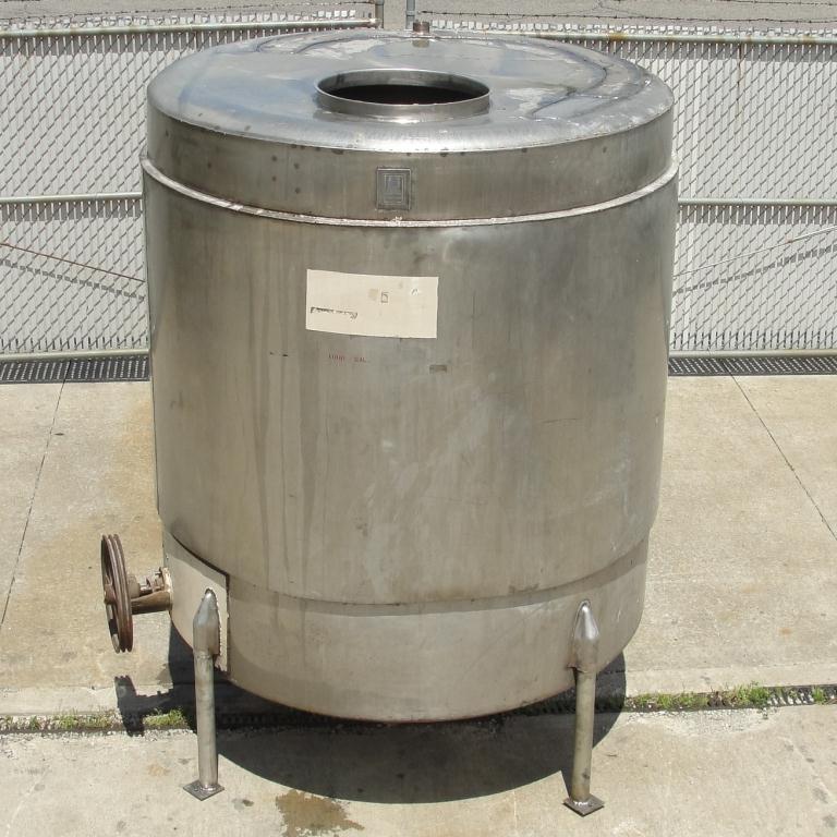 Tank 1000 gallon vertical tank, Stainless Steel, flat bottom11