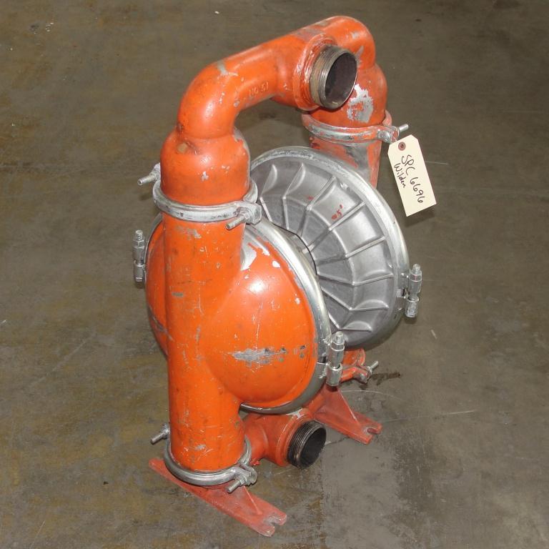 Pump 3 Wilden diaphragm pump, Aluminum2