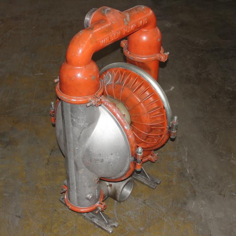 Pump 3 Wilden diaphragm pump, Aluminum4