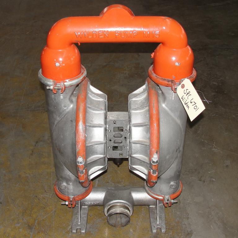 Pump 3 Wilden diaphragm pump, Aluminum1