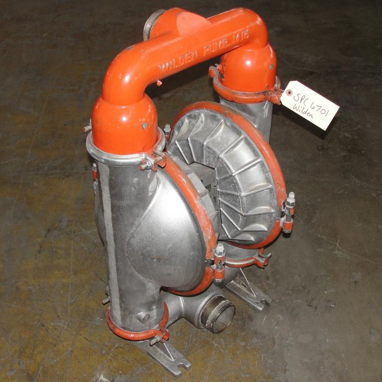 Pump 3 Wilden diaphragm pump, Aluminum3