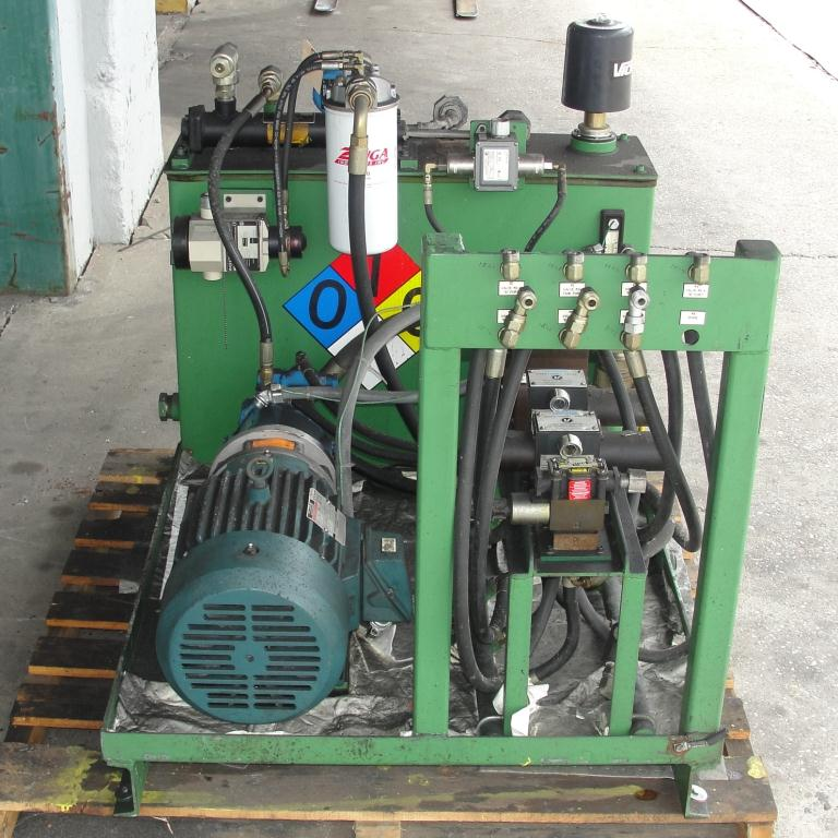 Mixer and Blender 40 diameter FCF-Bowers change can discharge press model TP-75-40, 50.5 stroke (in.)6