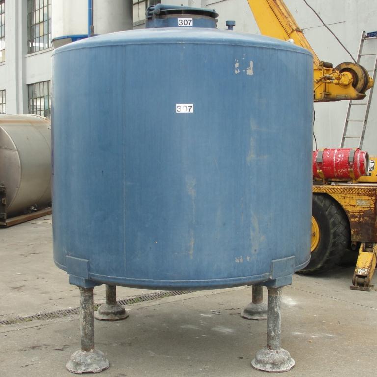 Tank 1110 gallon vertical tank, 304 SS, dish bottom6