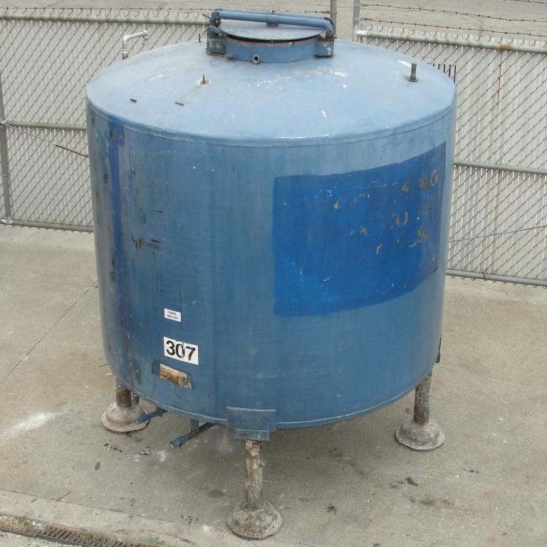 Tank 1110 gallon vertical tank, 304 SS, dish bottom7
