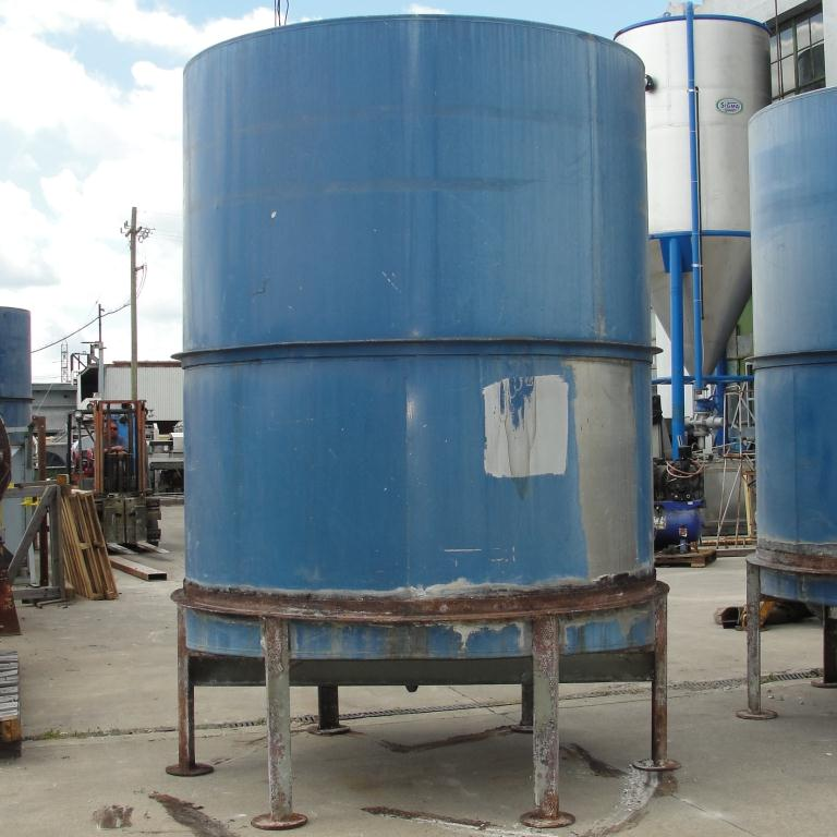 Tank 1821 gallon vertical tank, Inconel, slope Bottom5