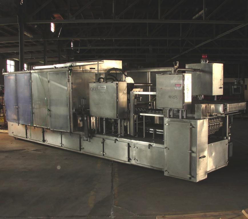 Filler 6 lane, 12 filling heads Osgood Industries Inc cup filler model 6100, up to 350 cpm1
