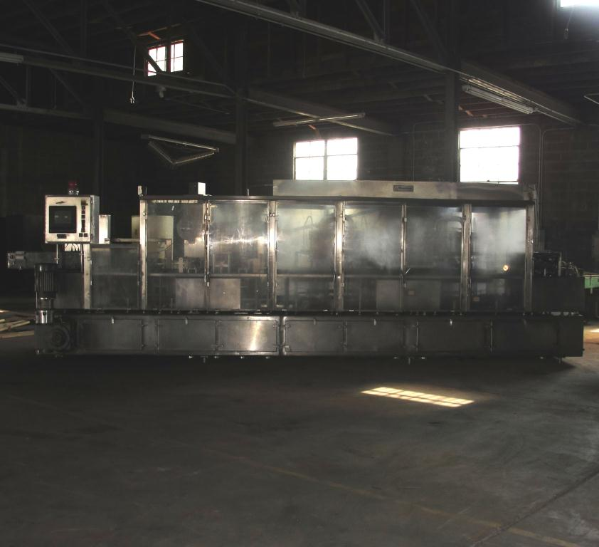 Filler 6 lane, 12 filling heads Osgood Industries Inc cup filler model 6100, up to 350 cpm2