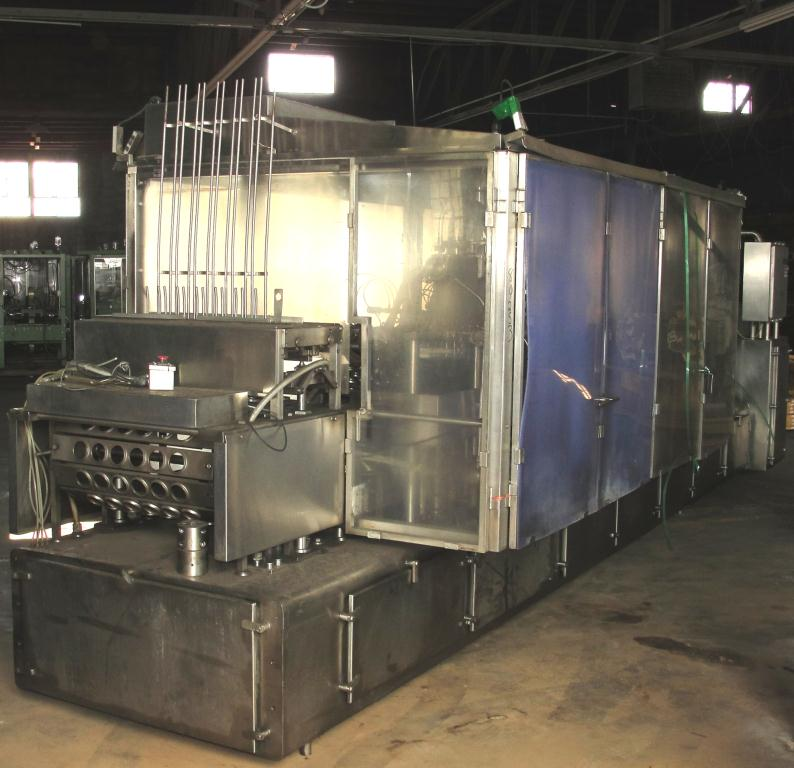 Filler 6 lane, 12 filling heads Osgood Industries Inc cup filler model 6100, up to 350 cpm3