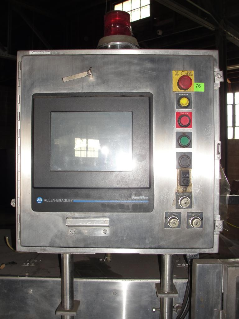 Filler 6 lane, 12 filling heads Osgood Industries Inc cup filler model 6100, up to 350 cpm7