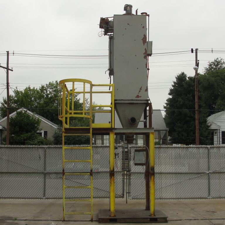 Dust Collector 110 sq.ft. Flex-Kleen reverse pulse jet dust collector2