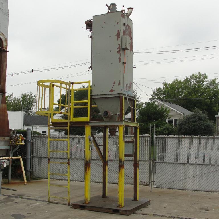 Dust Collector 110 sq.ft. Flex-Kleen reverse pulse jet dust collector3