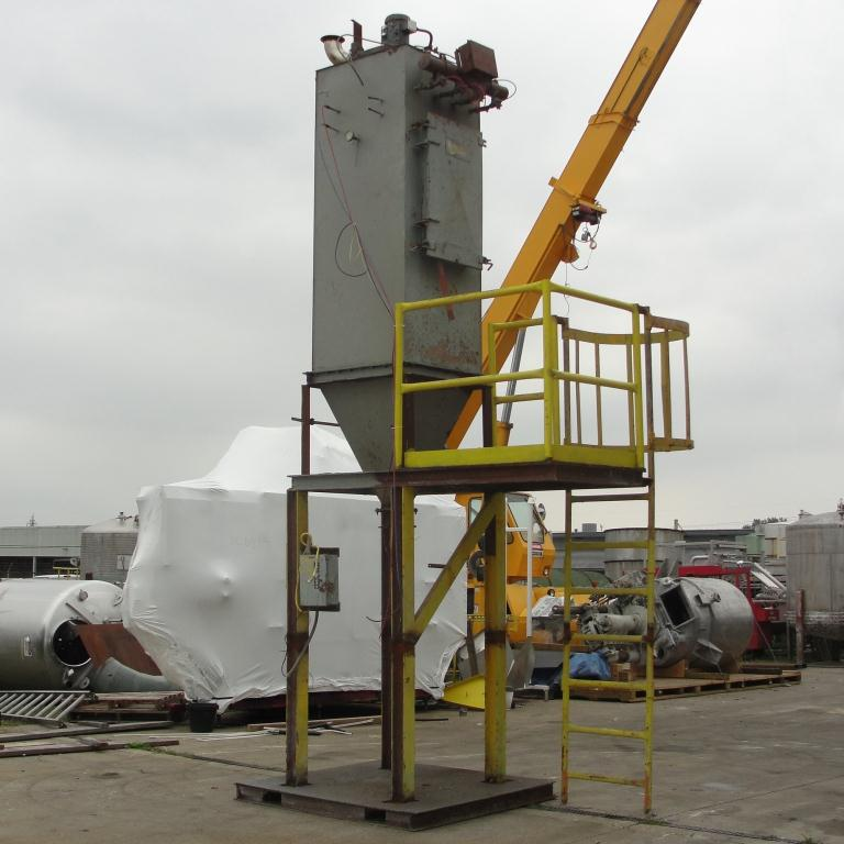 Dust Collector 110 sq.ft. Flex-Kleen reverse pulse jet dust collector5