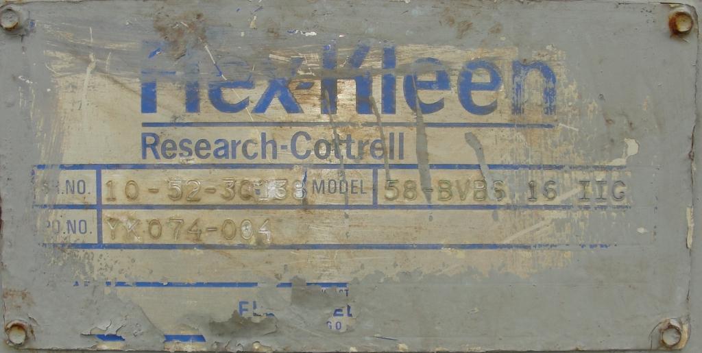Dust Collector 110 sq.ft. Flex-Kleen reverse pulse jet dust collector7