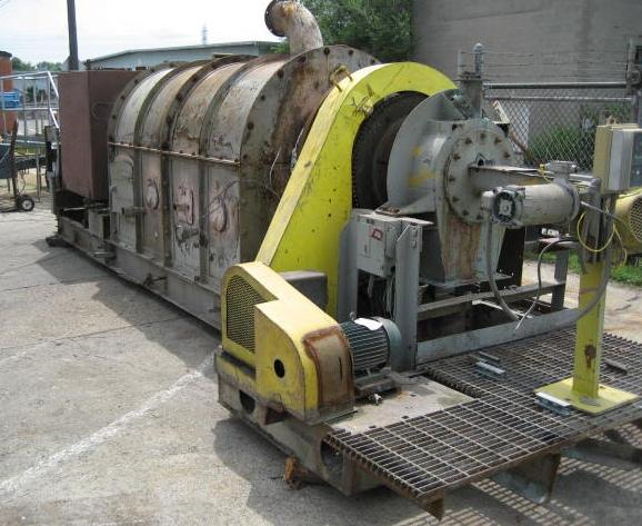 Calciner 14 x 18 5 CO Bartlett & Snow indirect fired calciner, 1200 deg. F, Stainless Steel2