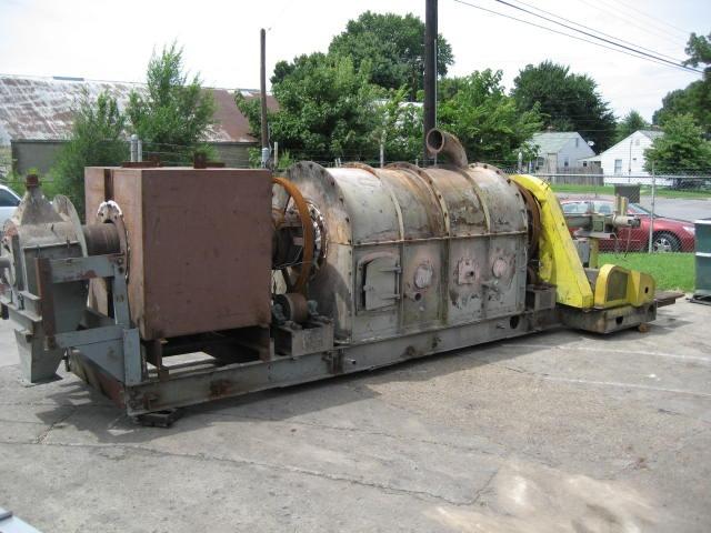 Calciner 14 x 18 5 CO Bartlett & Snow indirect fired calciner, 1200 deg. F, Stainless Steel4