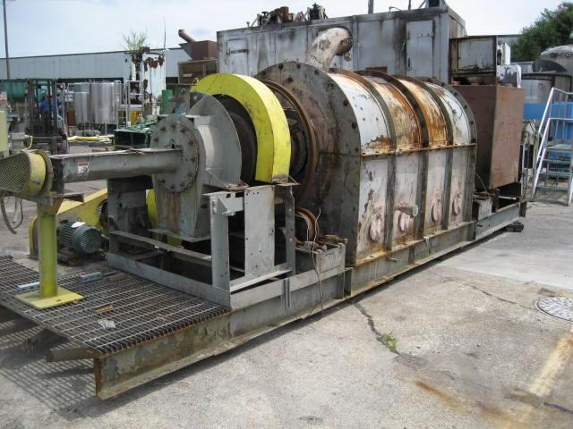 Calciner 14 x 18 5 CO Bartlett & Snow indirect fired calciner, 1200 deg. F, Stainless Steel7