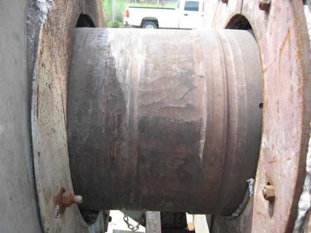 Calciner 14 x 18 5 CO Bartlett & Snow indirect fired calciner, 1200 deg. F, Stainless Steel12