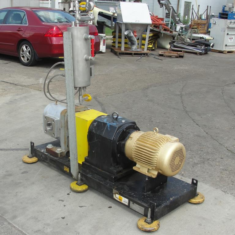 Pump 4 inlet Maag Pump positive displacement pump model CX 110/110, 10 hp, Stainless Steel3