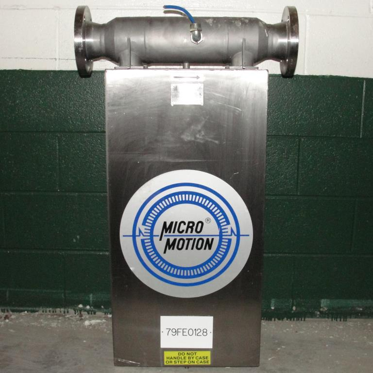 Miscellaneous Equipment 3 MicroMotion model D300S-SS-A150 mass flow meter up to 7000 lb/min flow range Stainless Steel1