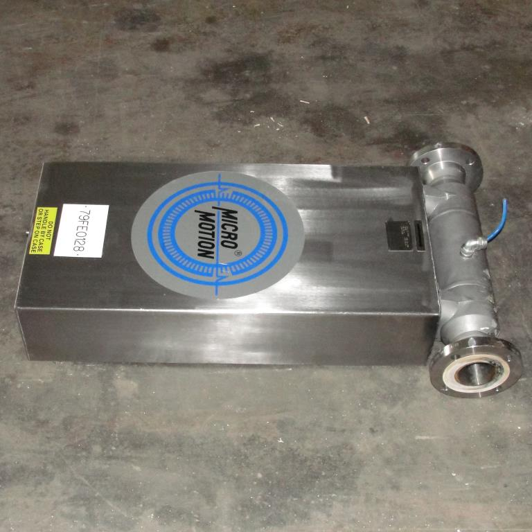 Miscellaneous Equipment 3 MicroMotion model D300S-SS-A150 mass flow meter up to 7000 lb/min flow range Stainless Steel3