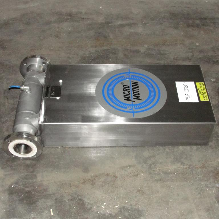 Miscellaneous Equipment 3 MicroMotion model D300S-SS-A150 mass flow meter up to 7000 lb/min flow range Stainless Steel5