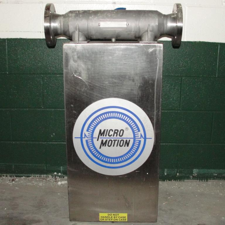 Miscellaneous Equipment 3 MicroMotion model D300S-SS-A150 mass flow meter up to 7000 lb/min flow range Stainless Steel6