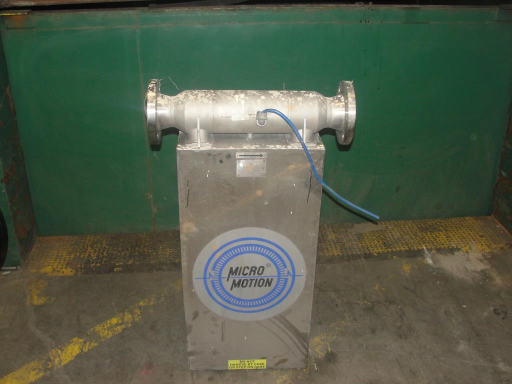 Miscellaneous Equipment 3 MicroMotion model D300S-SS-A150 mass flow meter up to 7000 lb/min flow range NA1