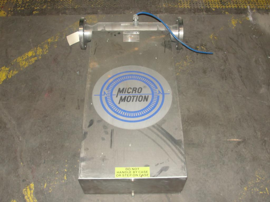 Miscellaneous Equipment 3 MicroMotion model D300S-SS-A150 mass flow meter up to 7000 lb/min flow range NA2