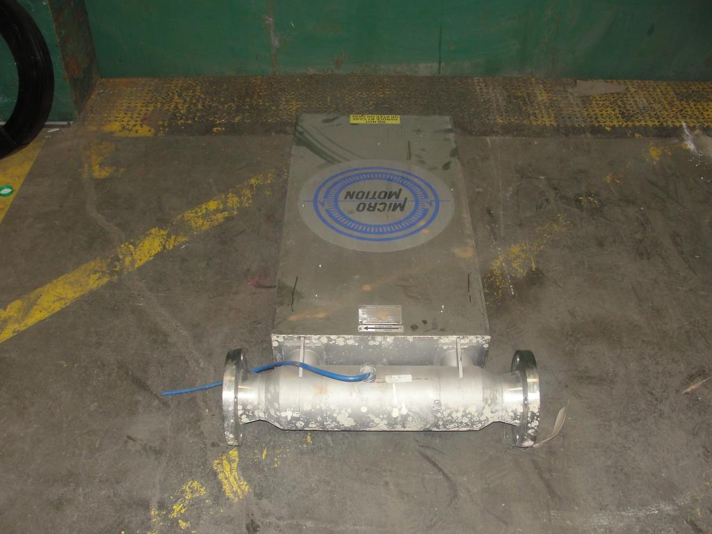 Miscellaneous Equipment 3 MicroMotion model D300S-SS-A150 mass flow meter up to 7000 lb/min flow range NA4