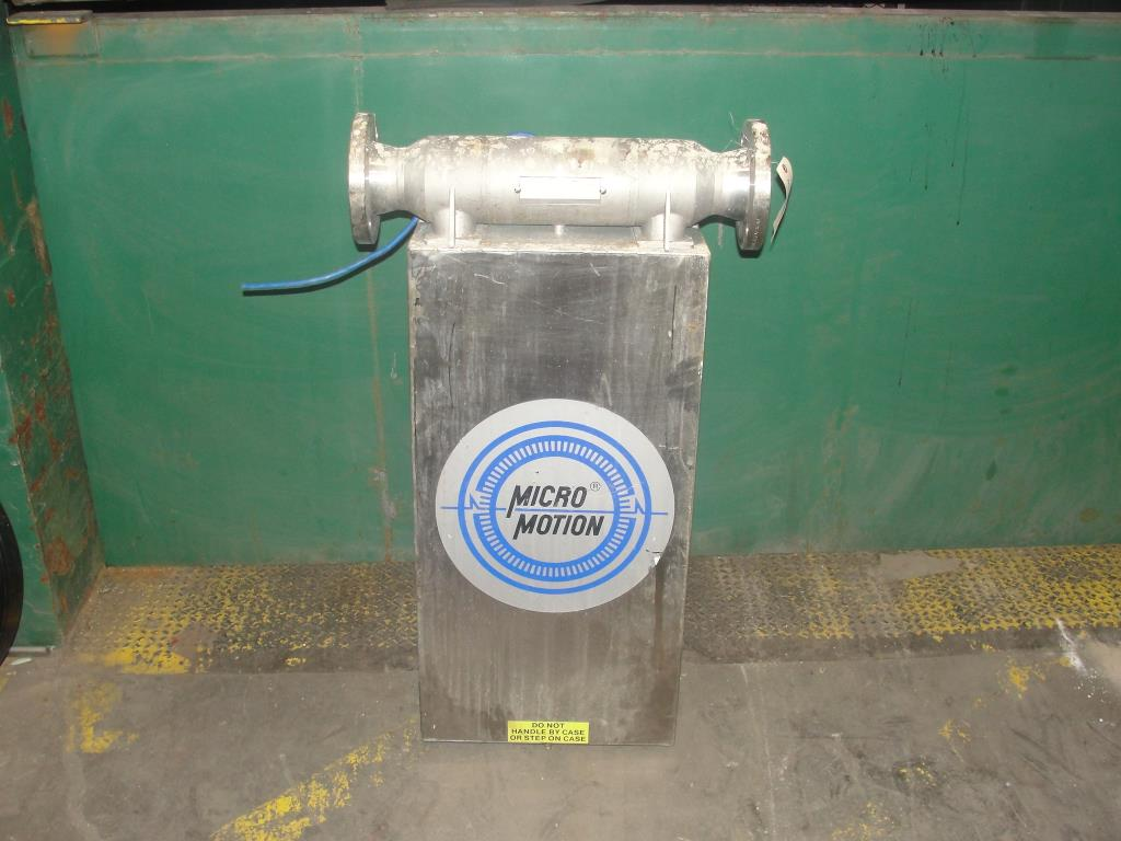 Miscellaneous Equipment 3 MicroMotion model D300S-SS-A150 mass flow meter up to 7000 lb/min flow range NA5