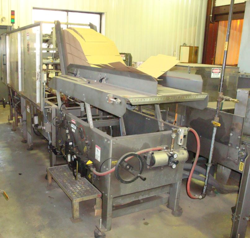 Case Packer SV Dice wrap-around case packer model 127WA1