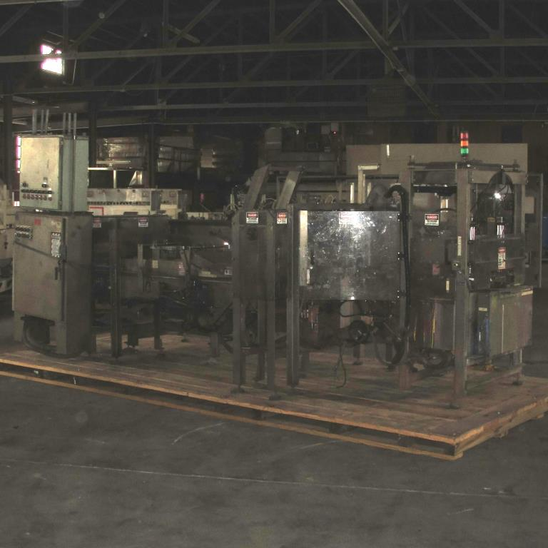 Case Packer SV Dice wrap-around case packer model 127WA8