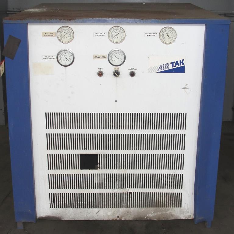 Compressor 5 hp Air Tak air dryer model D-1000-W-HP, 1000 cfm2