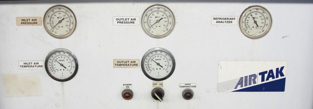 Compressor 5 hp Air Tak air dryer model D-1000-W-HP, 1000 cfm3
