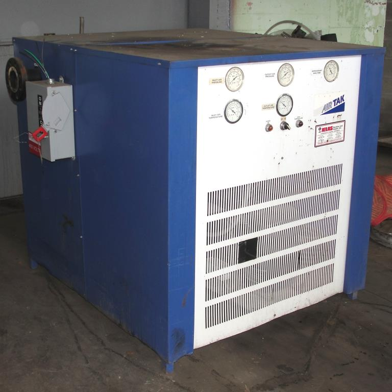 Compressor 5 hp Air Tak air dryer model D-1000-W-HP, 1000 cfm1